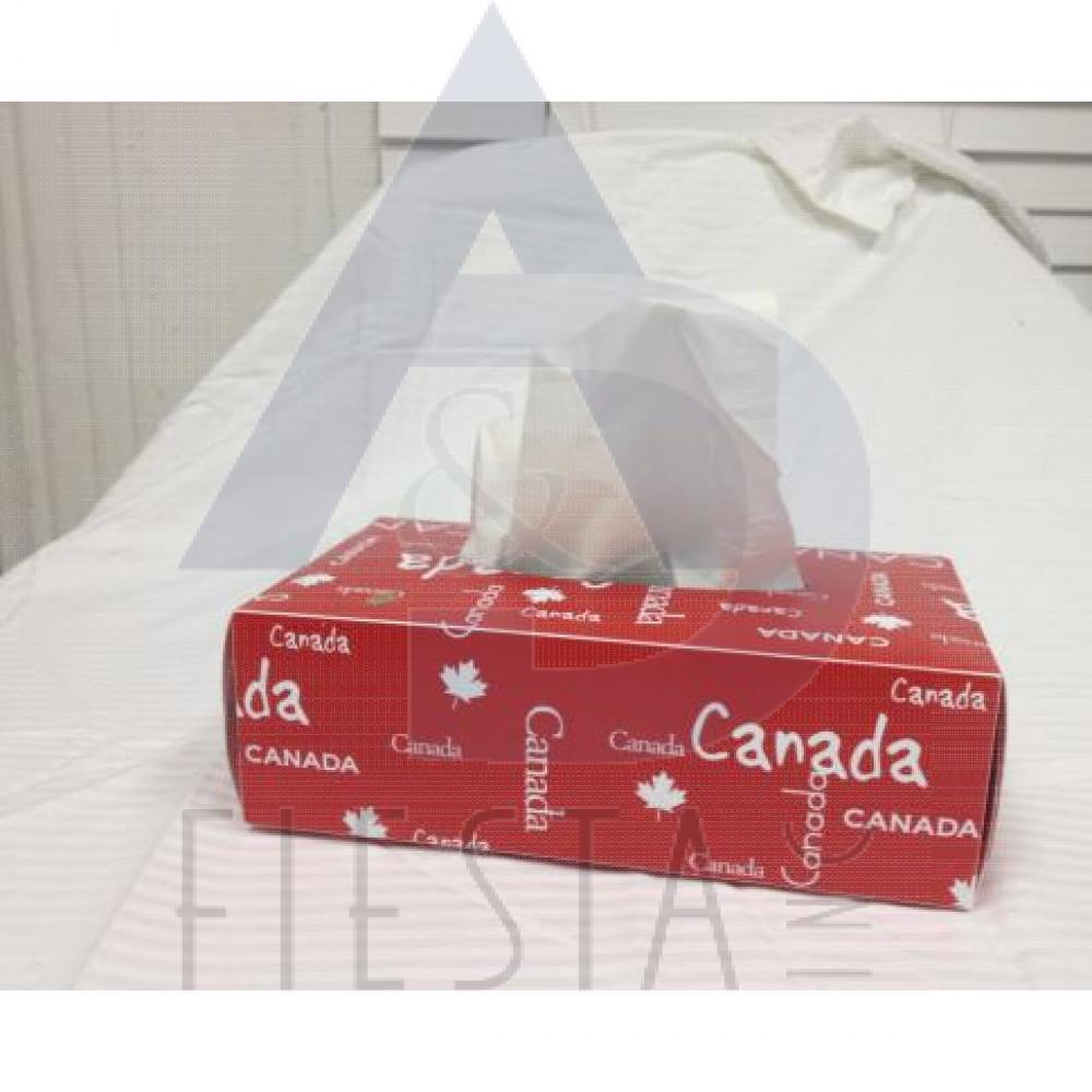 CANADA TISSUE BOX COVER 2 ASSORTED