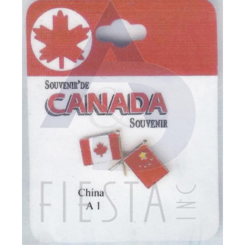 Beautiful CANADA FRIENDSHIP PIN   CHINA