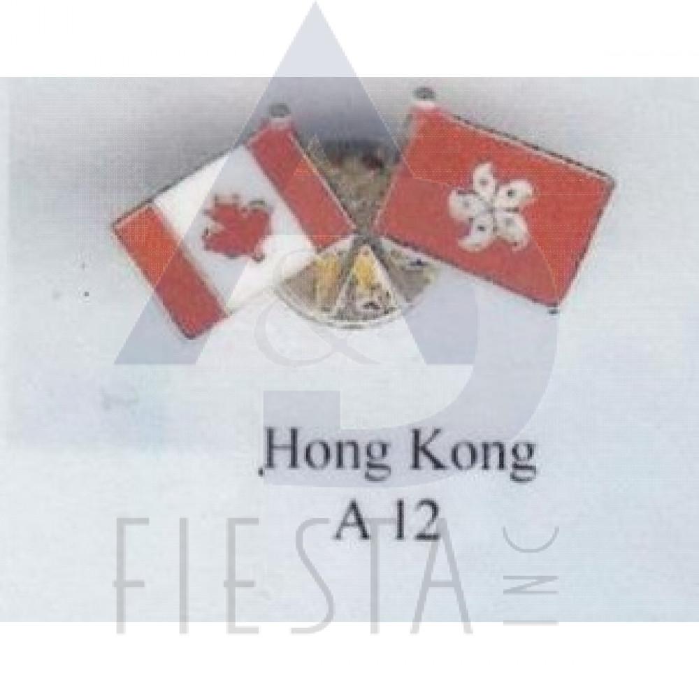 Nice CANADA FRIENDSHIP PIN   HONG KONG