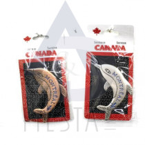 MONTREAL METAL DOLPHIN PIN ON CARD ASSORTED
