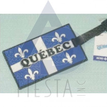 QUEBEC RUBBERIZED LUGGAGE TAG