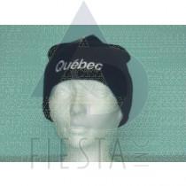 QUEBEC BLACK ACRYLIC TOQUE