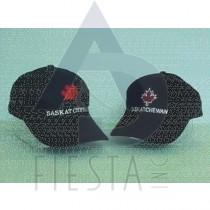 SASKATCHEWAN BRUSHED COTTON CAP 2 ASSORTED