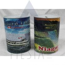 NIAGARA FALLS METAL PIGGY BANK 2 ASSORTED
