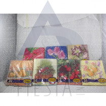 24 PCS. 2 PLY LUNCH NAPKINS 33X33 CM