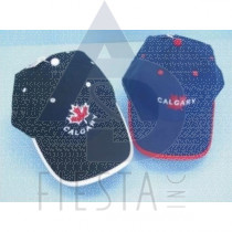 CALGARY BRUSHED COTTON CAP 2 ASSORTED