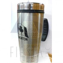EDMONTON SILVER STAINLESS STEEL MUG WITH HANDLE