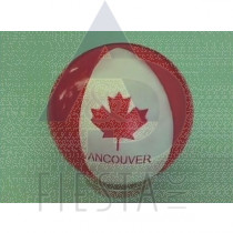 """VANCOUVER 8"""" INFLATABLE BEACH BALL"""