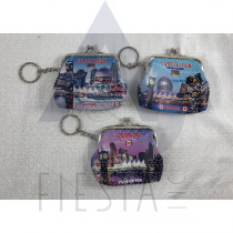 VANCOUVER SMALL COIN PURSE WITH LANDMARKS PICTURES ASSORTED