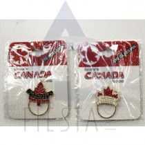VANCOUVER EYE GLASS PIN ASSORTED