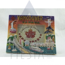 """VANCOUVER POLY PICTURE FRAME 3.5""""X5"""" ASSORTED IN GIFT BOX"""