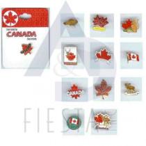CANADA PINS 12 ASSORTED