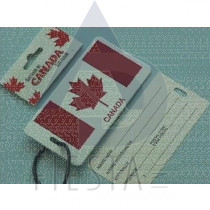 CANADA LARGE LUGGAGE TAG