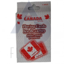 CANADA PLAYING CARDS IN PAPER BOX