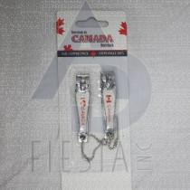 CANADA NAIL CLIPPER 2 PACK