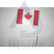 CANADA FLASHING FLAG