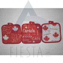 CANADA POT HOLDER 3 ASSORTED