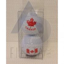 CANADA GOLF BALLS IN BOX 2 ASSORTED