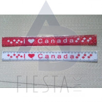 CANADA RULER RED/WHITE ASSORTED