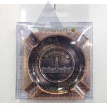 CANADA DELUXE METAL ASHTRAY IN ACRYLIC BOX