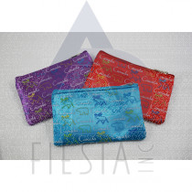 CANADA SATIN COIN PURSE ASSORTED COLORS