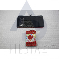 "CANADA 3 FOLD WALLET WITH 3 COLORS ""CANADA"""