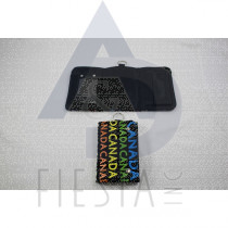 """CANADA 3 FOLD WALLET WITH 4 COLORS """"CANADA"""""""