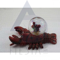 12 CM LOBSTER WITH WATER GLOBE