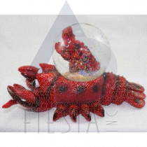16 CM LOBSTER WITH WATER GLOBE