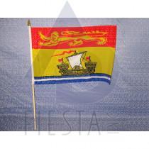 "NEW BRUNSWICK FLAG 12""X18"""