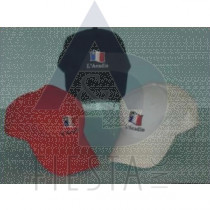 L'ACADIE BRUSHED COTTON CAP ASSORTED