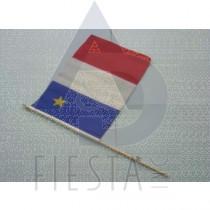"""L'ACADIE FLAG 12""""X18"""""""
