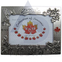 """CANADA METAL PICTURE FRAME 3.5""""X5"""""""