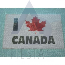 "CANADA PLACEMAT ""I LOVE CANADA"""