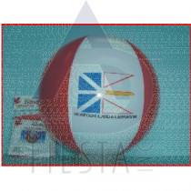 "NEWFOUNDLAND LABRADOR 16"" INFLATABLE BEACH BALL"