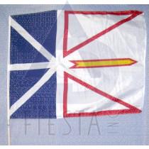 NEWFOUNDLAND LABRADOR FLAG 75X100 CM WITH 1.5 M. WOODEN POLE