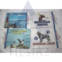 NEWFOUNDLAND LABRADOR MOUSE PADS 4 ASSORTED