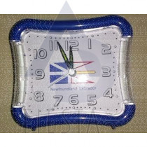 NEWFOUNDLAND LABRADOR ALARM CLOCK WITH LIGHT