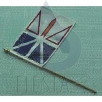 """NEWFOUNDLAND LABRADOR FLAG (BULK) SIZE 4""""X6"""""""