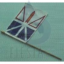 """NEWFOUNDLAND LABRADOR FLAG (BULK) SIZE 8""""X12"""""""