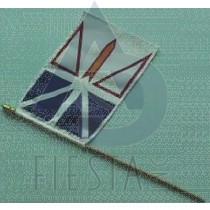 """NEWFOUNDLAND LABRADOR FLAG (BULK) SIZE 12""""X18"""""""