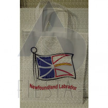 """NEWFOUNDLAND LABRADOR NON WOVEN SHOPPING BAG 15.75""""X14"""" ASSORTED"""