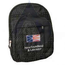 NEWFOUNDLAND LABRADOR MICRO BLACK, BACK PACK LARGE
