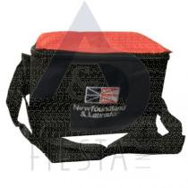 NEWFOUNDLAND LABRADOR COOLER BAG, BLACK/RED SERIES