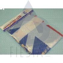 """NEWFOUNDLAND LABRADOR FLAG (IN POLYBAG) SIZE 24""""X36"""""""