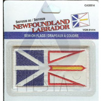 NEWFOUNDLAND LABRADOR SEW ON PATCH LARGE
