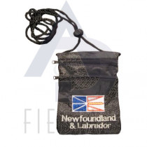 NEWFOUNDLAND LABRADOR SECURITY POUCH WITH STRING
