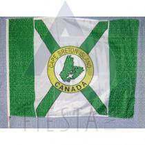 CAPE BRETON FLAG 75X100 ON POLE