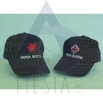 NOVA SCOTIA BRUSHED COTTON CAP 2 ASSORTED
