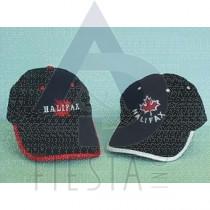 HALIFAX-NOVA SCOTIA BRUSHED COTTON CAP 2 ASSORTED
